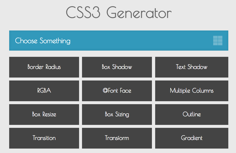 Top CSS Generators for Developers and Designers